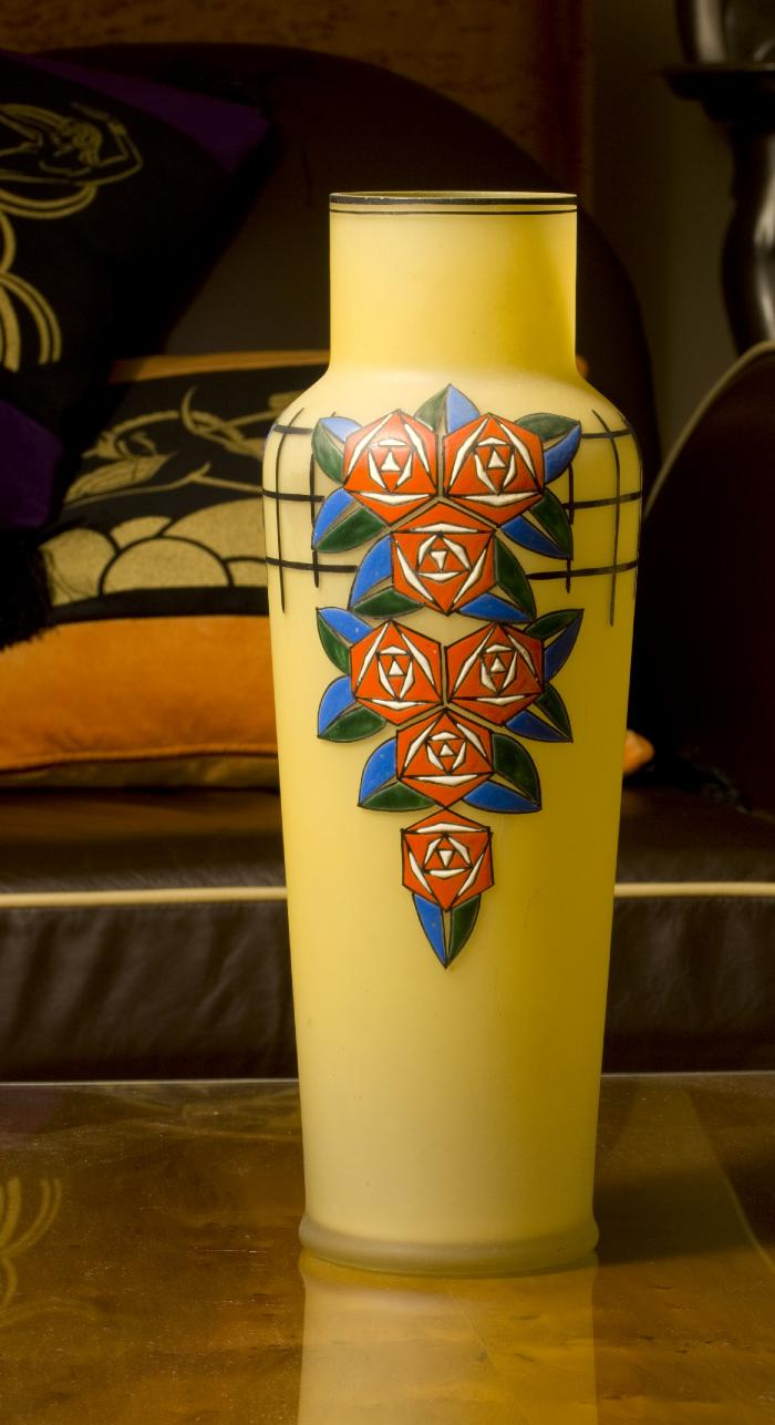 Stunning Art Deco vase courtesy of Sheryl's Art Deco Emporium